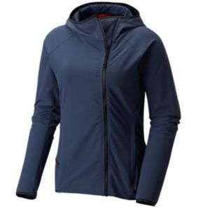 Mountain Hardwear Navy Speedstone Hooded Jacket